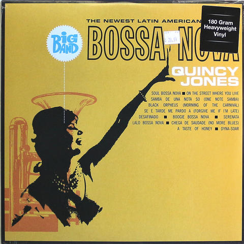 "Quincy Jones Vinyl 12"" (New)"