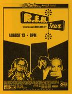 R.E.M. Handbill
