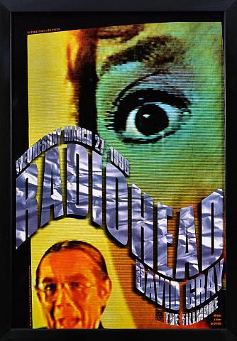 Radiohead Framed Poster