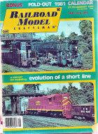 Railroad Model Craftsman Vol. 49 No. 8 Magazine