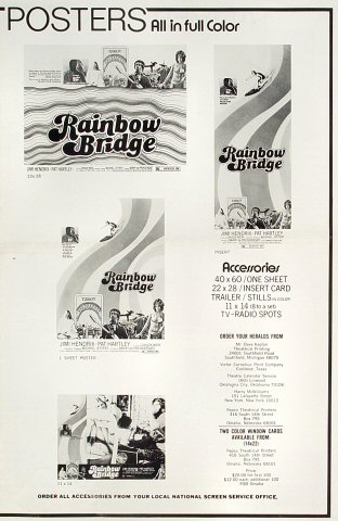 Rainbow Bridge Program reverse side