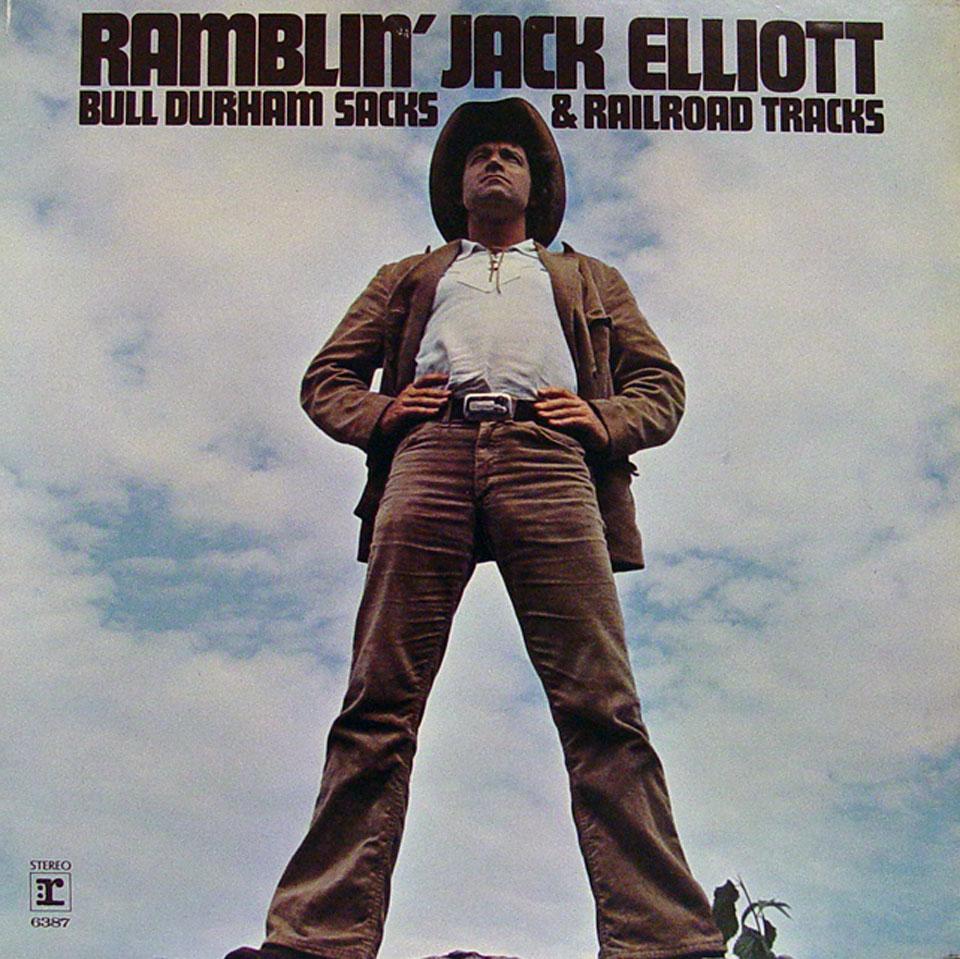 """Ramblin' Jack Elliott Vinyl 12"""" (Used)"""