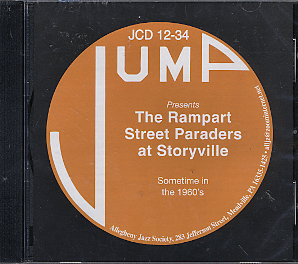 Rampart Street Paraders CD