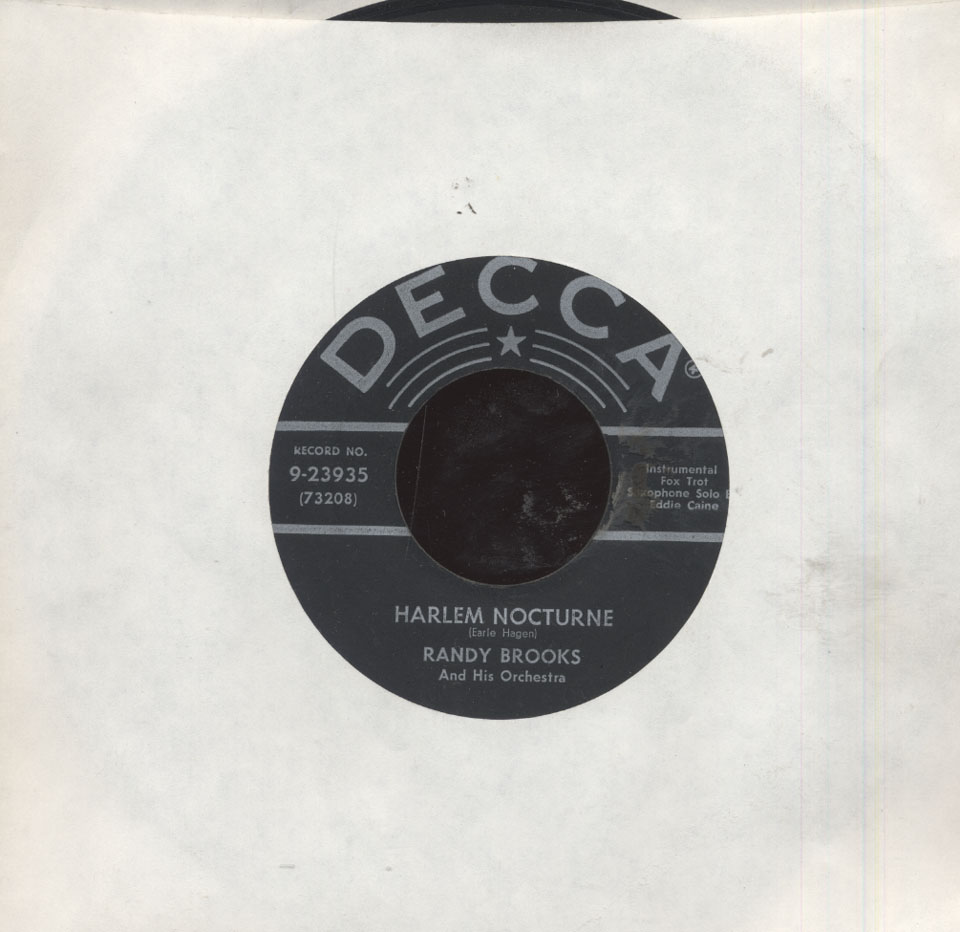 """Randy Brooks And His Orchestra Vinyl 7"""" (Used)"""