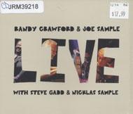 Randy Crawford & Joe Sample Live CD
