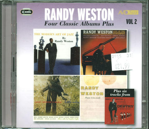 Randy Weston CD