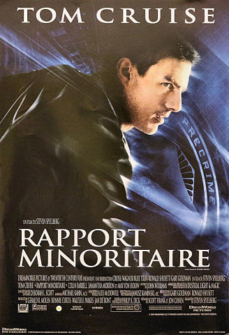 Rapport Minoritaire Poster
