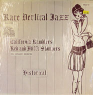"Rare Vertical Jazz: 1926-1929 Vinyl 12"" (Used)"