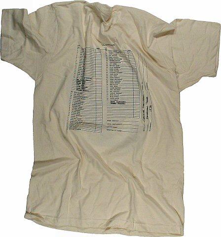 Ravi Shankar Men's T-Shirt reverse side