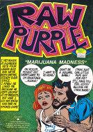 Raw Purple Comic Book