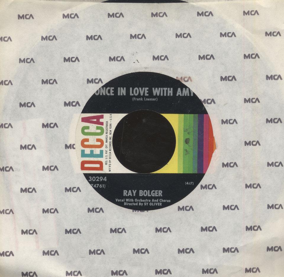 "Ray Bolger and Ethel Merman Vinyl 7"" (Used)"