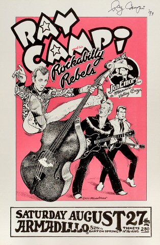 Ray Campi and His Rockabilly Rebels Poster