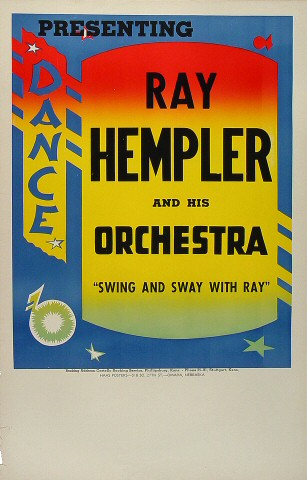 Ray Hempler and His Orchestra Poster