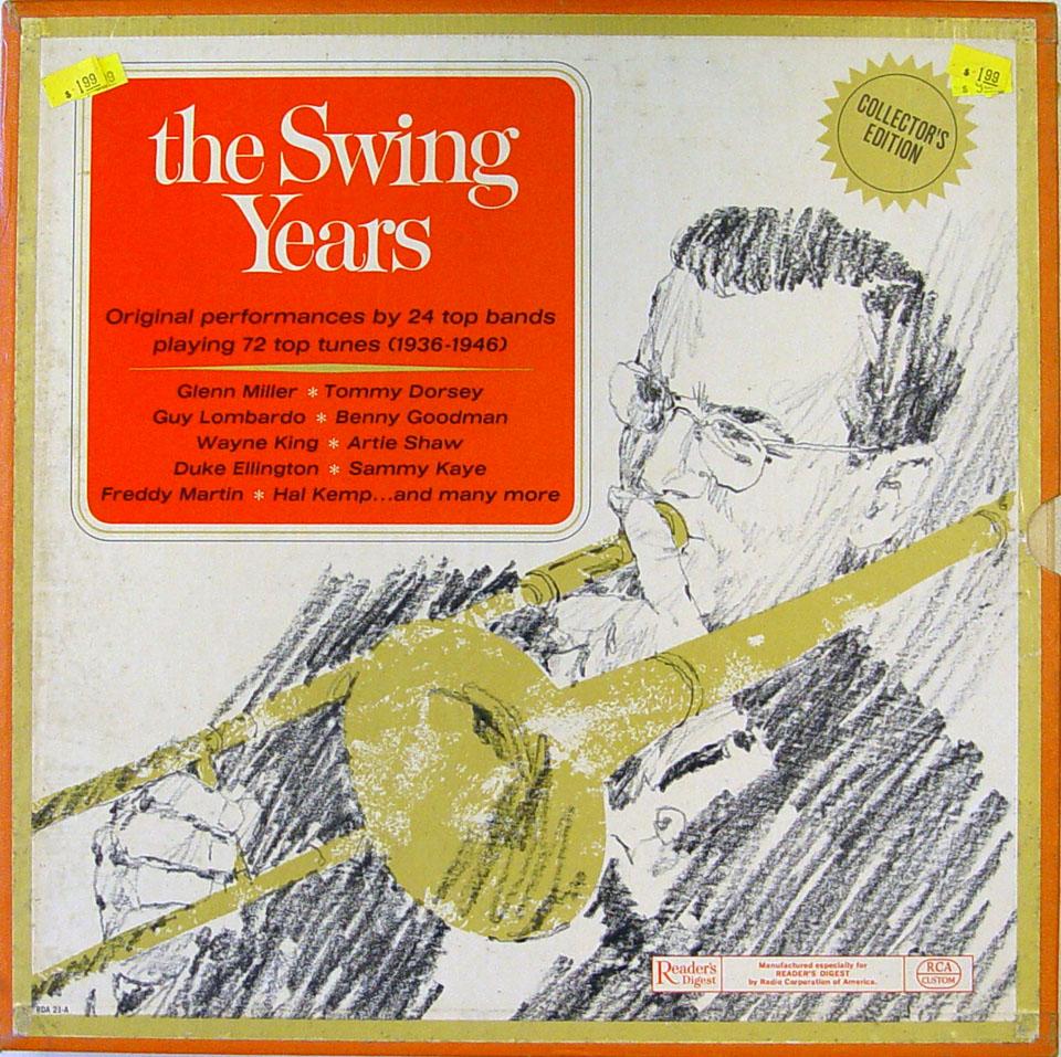 "Reader's Digest: The Swing Years Vinyl 12"" (Used)"