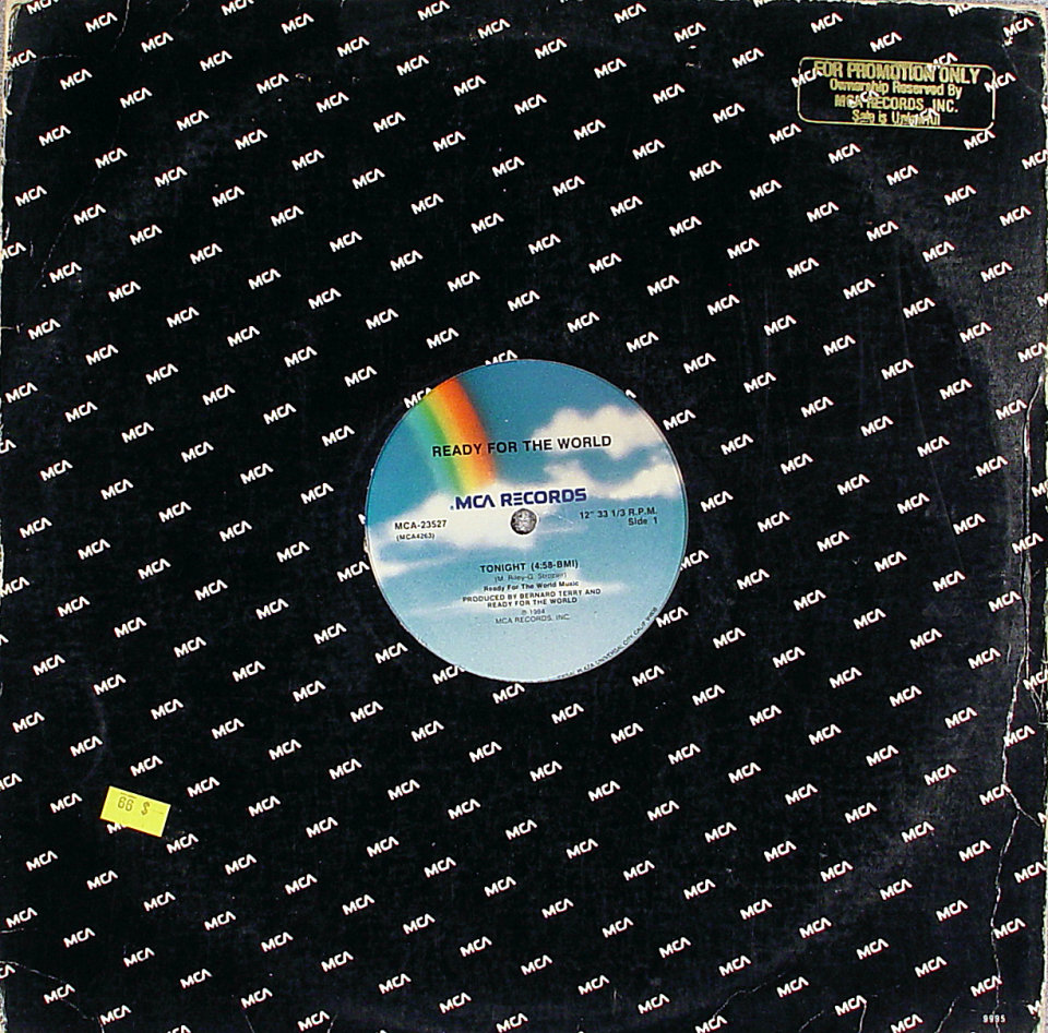 "Ready for the World Vinyl 12"" (Used)"
