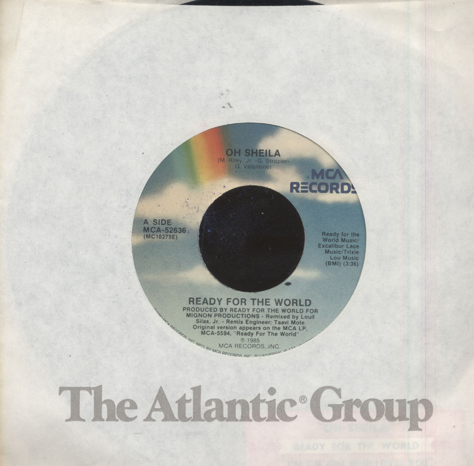 "Ready for the World Vinyl 7"" (Used)"