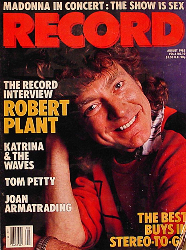 Record Aug 1,1985 Magazine