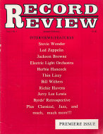 Record Review Vol. 1 No. 1 Magazine