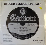 "Record Session Specials: You're My Waterloo Vinyl 12"" (New)"