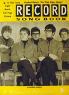 Record Song Book Book