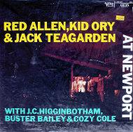 "Red Allen, Kid Ory & Jack Teagarden Vinyl 12"" (Used)"