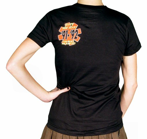 Red Hot Chili Peppers Women's T-Shirt reverse side