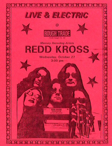 Red Kross Handbill