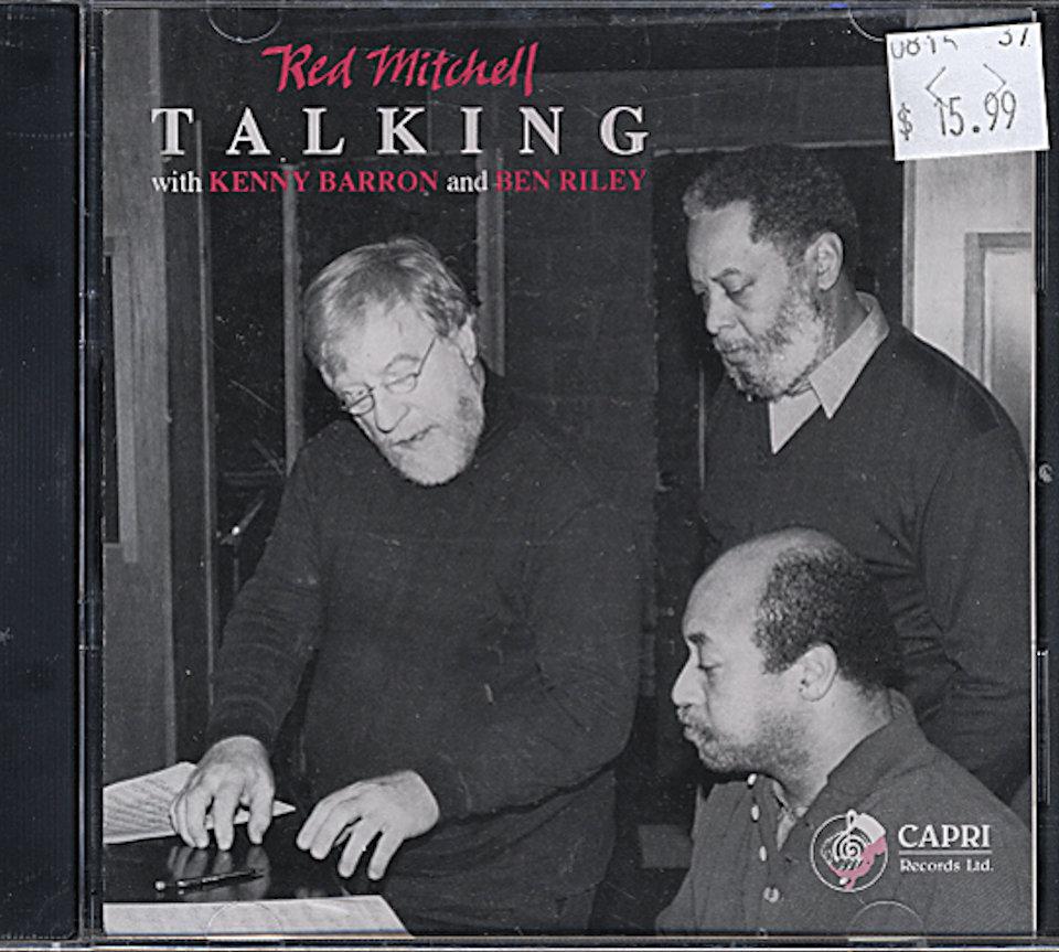 Red Mitchell Trio CD