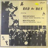 "Red Nichols / Ben Pollack Vinyl 12"" (New)"