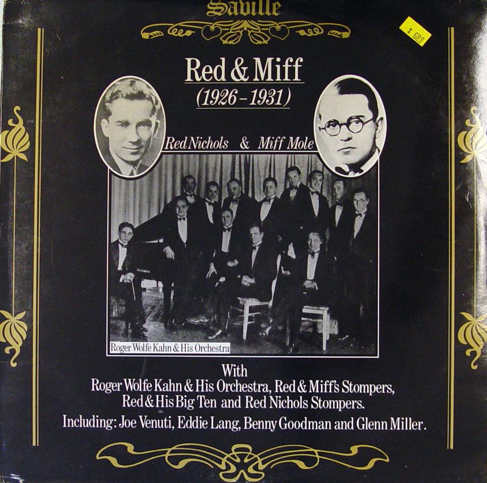 "Red Nichols / Miff Mole Vinyl 12"" (Used)"