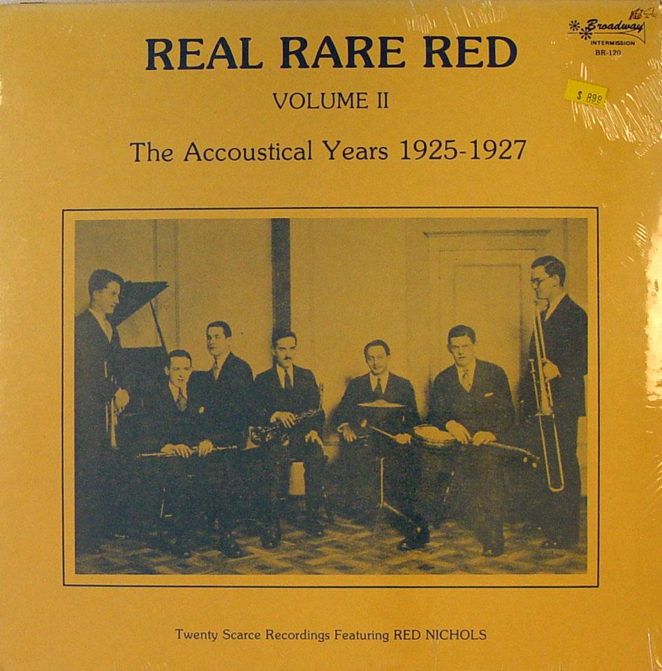 "Red Nichols Vinyl 12"" (New)"