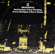 "Red Rodney & Kai Winding / Gerry Mulligan & Brew Moore Vinyl 12"" (Used)"