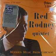 "Red Rodney Quintet Vinyl 12"" (New)"