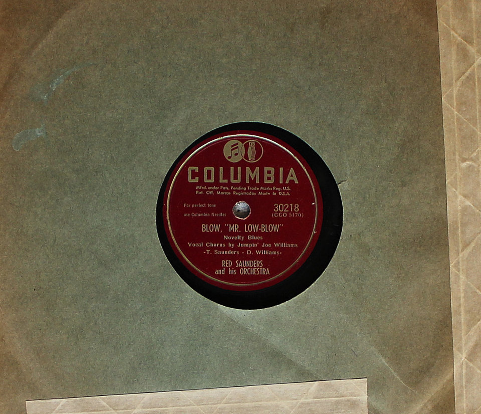 Red Saunders And His Orchestra 78