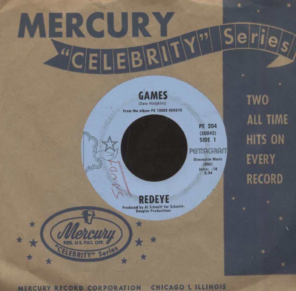 """Redeye Vinyl 7"""" (Used)"""