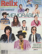 Relix Magazine April 1981 Magazine