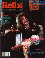 Relix Magazine April 1982 Magazine