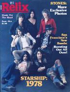 Relix Magazine September 1978 Magazine