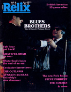 Relix  May 1,1979 Magazine