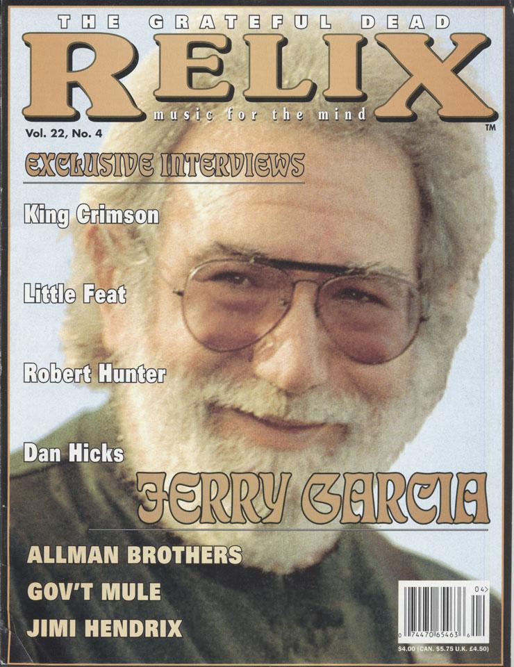 Relix Vol. 22 No. 4