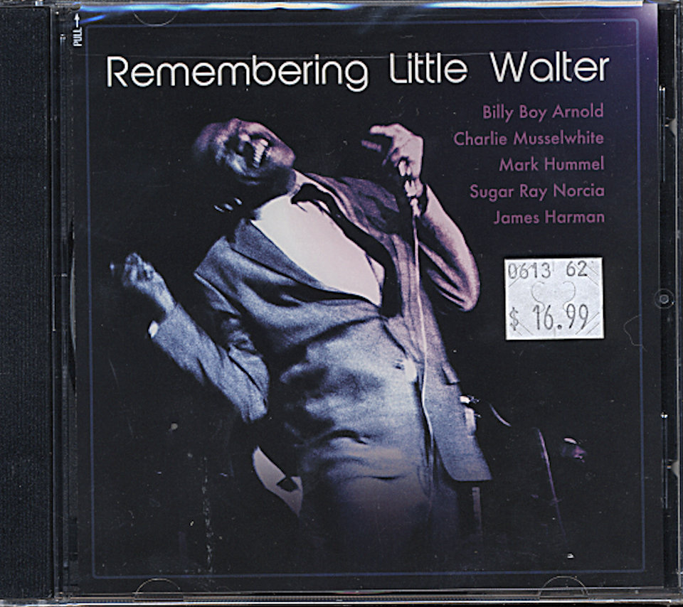 Remembering Little Walter CD