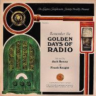 "Remembering the Golden Days of Radio - Volume 1 Vinyl 12"" (Used)"