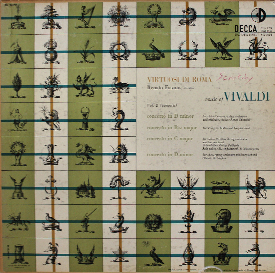 "Renato Fasano Vinyl 12"" (Used)"