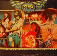 "REO Speedwagon Vinyl 12"" (Used)"