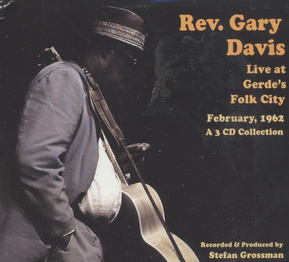 Rev. Gary Davis CD