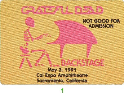 Rex Foundation Benefit Backstage Pass