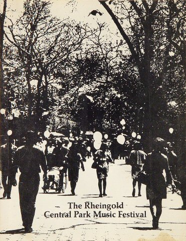 Rheingold Music Festival Program