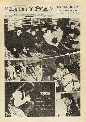 Rhythm 'n' News Vol. 1 No. 13 Program