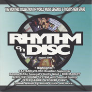 Rhythm On Disc CD