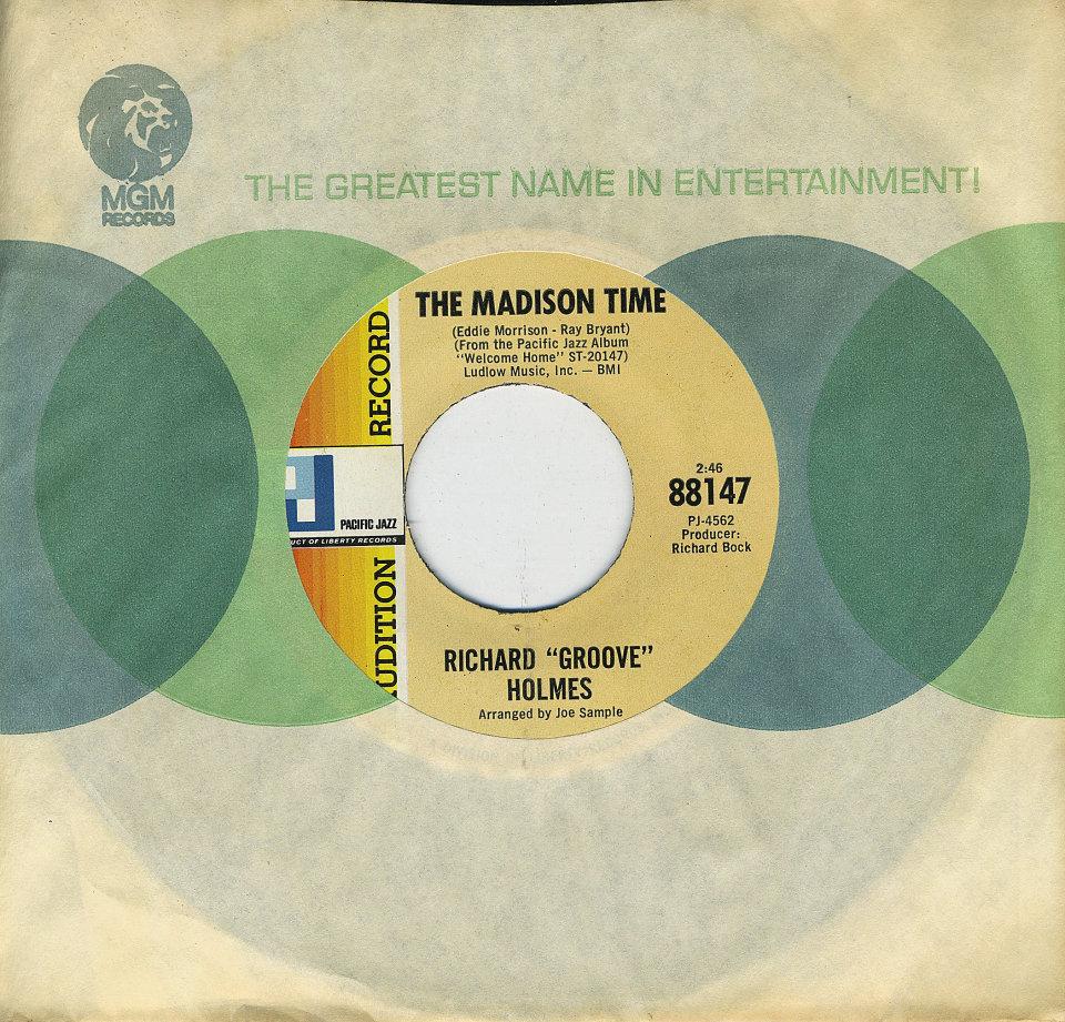 """Richard """"Groove"""" Holmes Vinyl 7"""" (Used)"""